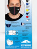 Premium Cotton Face Mask (Pack of 3)