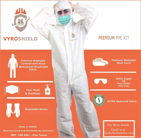 VyroShield PPE Kit - Premium