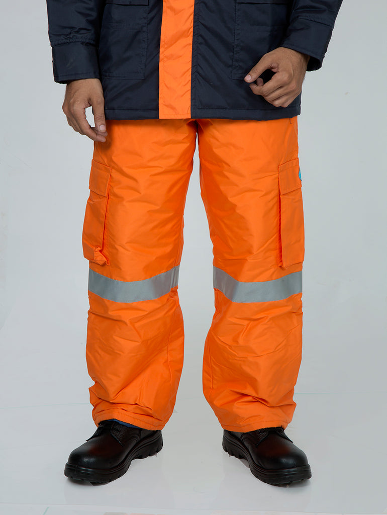 Xtreme weather pants refl tapes
