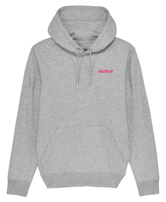 Hoodie sweater light grey