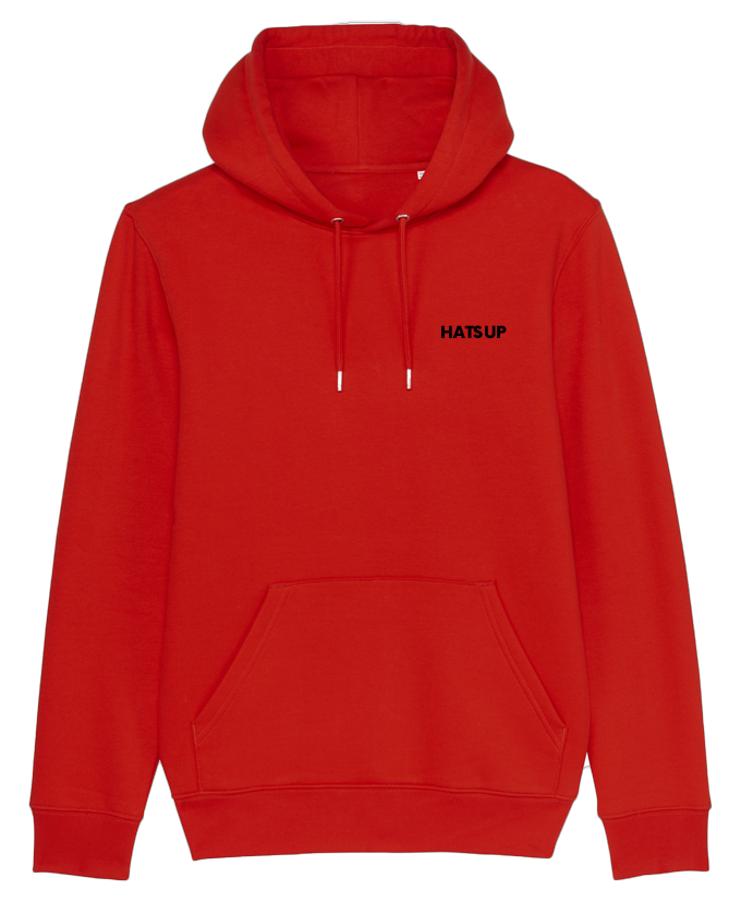 Hoodie sweater red