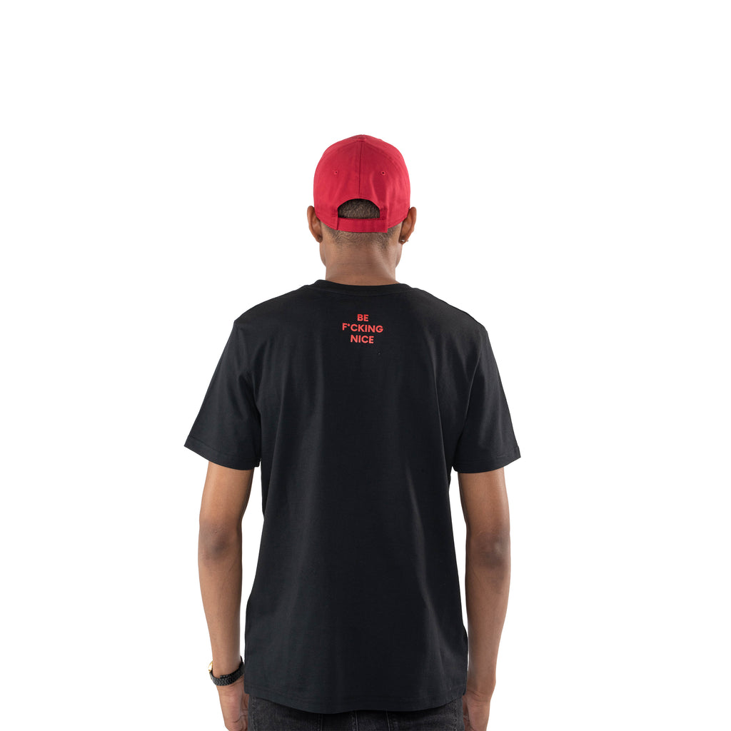 T-shirt black hatsup