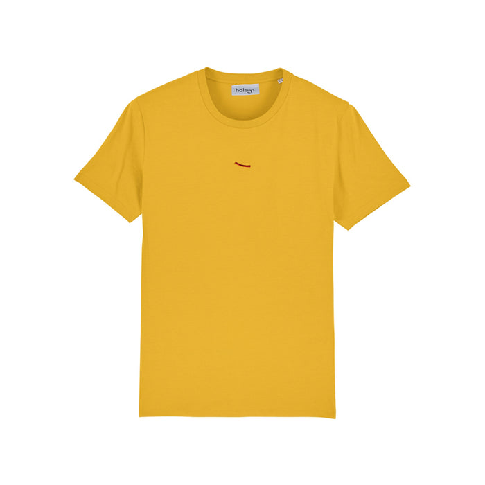 T-shirt yellow hatsup