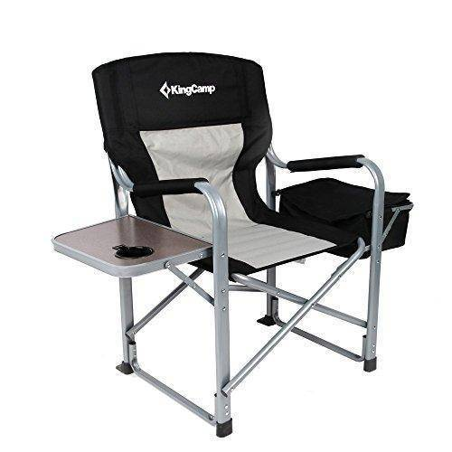 Director's  Folding Chair with Cooler Bag and Side Table