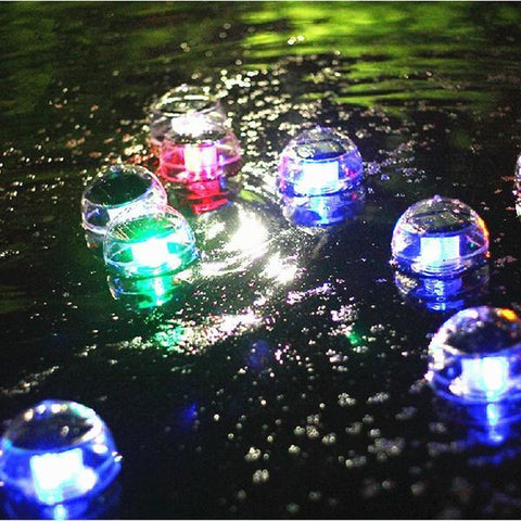Image of Solar Powered Self-Recharging Floating LED Ball