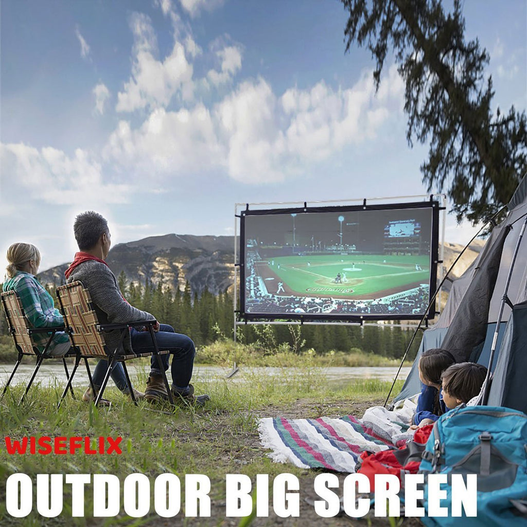 WISEFLIX™ OUTDOOR BIG SCREEN