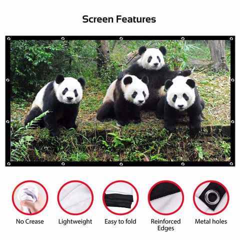 Image of WISEFLIX™ OUTDOOR BIG SCREEN