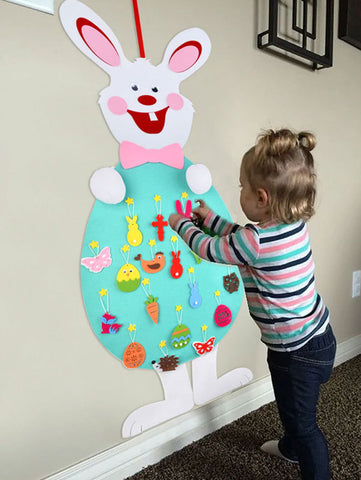 Image of DIY Easter Felt Bunny
