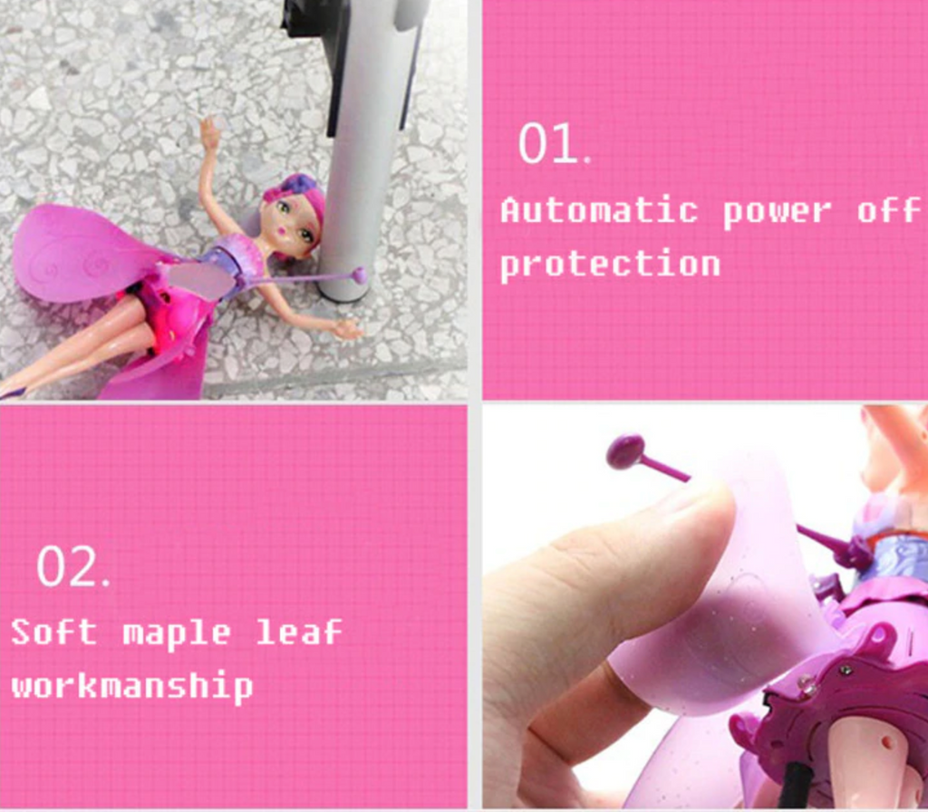 DIY Flying Fairy Dolls