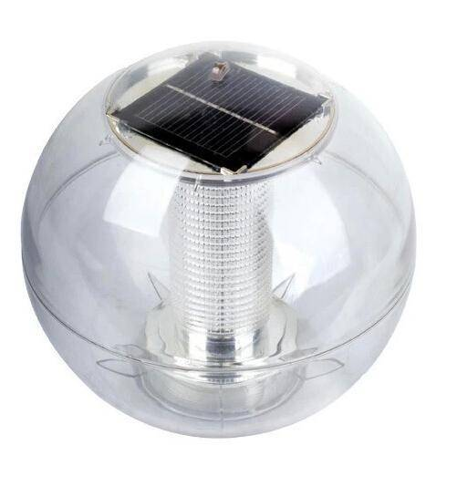 Solar Powered Self-Recharging Floating LED Ball