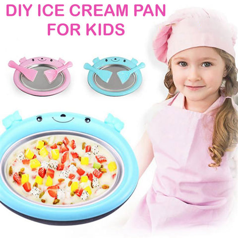 Image of DIY Ice Cream Pan for Kids