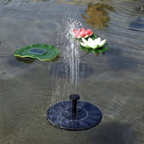 Solar Power Water Fountain