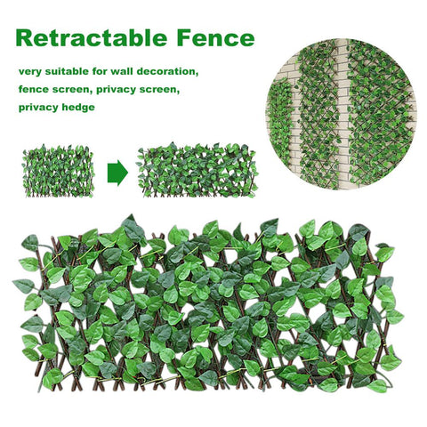 Image of Retractable Garden Fence(Up to 6.5 ft)