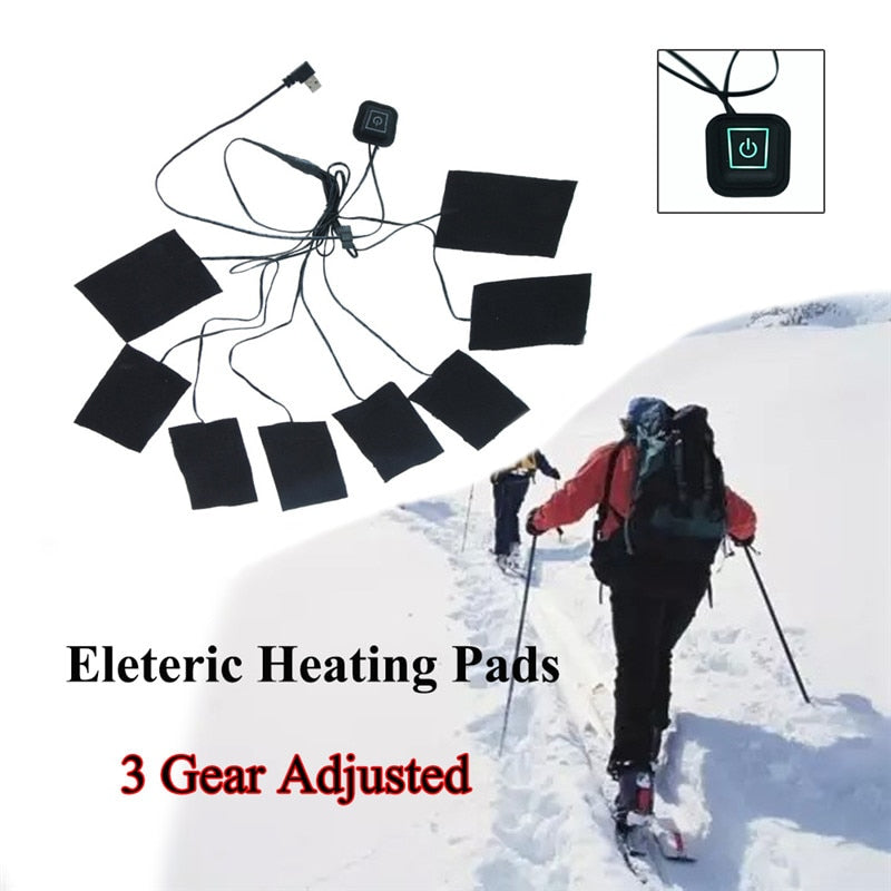 DIY 8 in 1 Clothing Electric Heating Pads