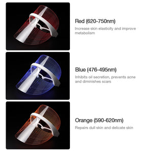 3 Color Photon-Face Skin Care Device