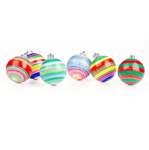 DIY Kids Tree Ornament Decorating
