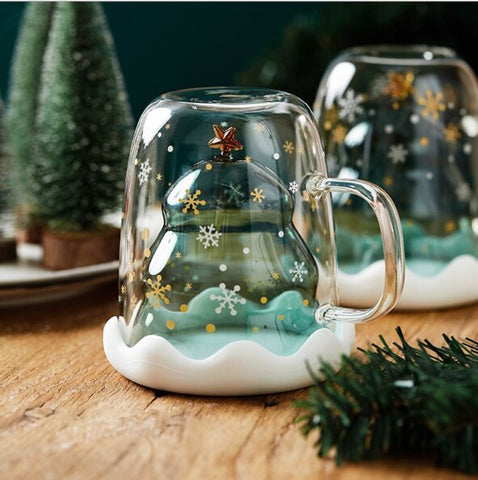 Image of Christmas Tree Double Wall Mug