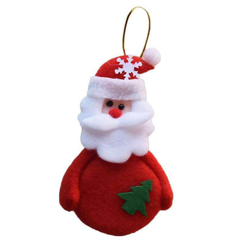 Chrismas Tree Santa Claus Decorations For Home 24 PCS Set
