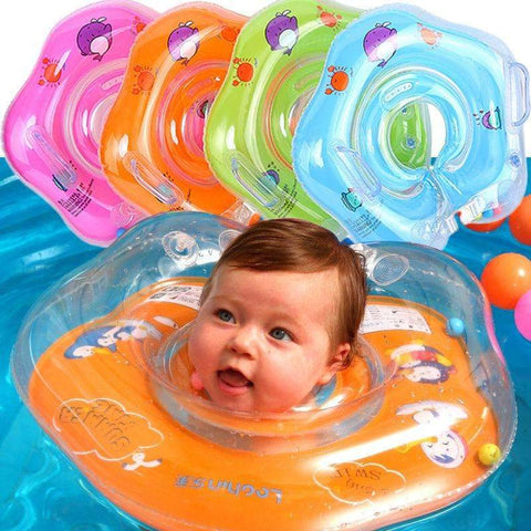 Swimming neck ring