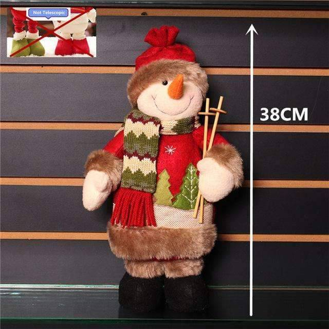 The World`s best Retractable Christmas Santa Claus/Snowman/Deers dolls