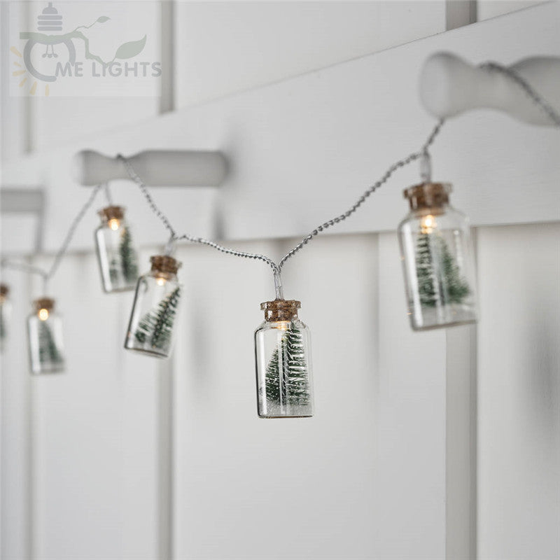 Christmas Tree Mason Jar Light