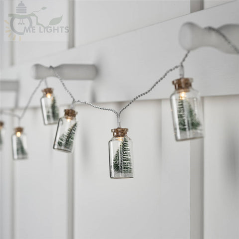 Image of Christmas Tree Mason Jar Light