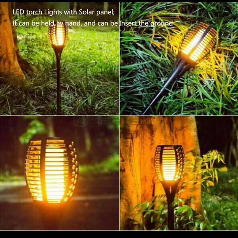 Image of SOLAR FLAME LIGHT