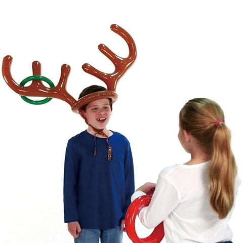 Inflatable Reindeer Party Game