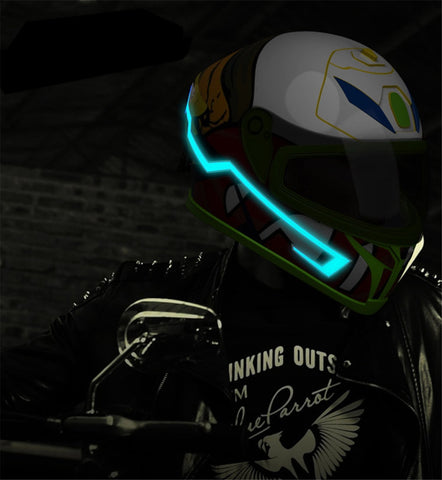 Image of Motorcycle Helmet Light Strip