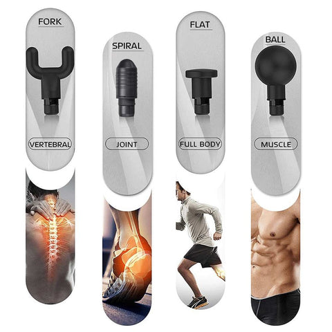 Image of HYPERVOLT PHOENIX MASSAGE THERAPY GUN - PERCUSSIVE MASSAGE GUN MUSCLE MASSAGER