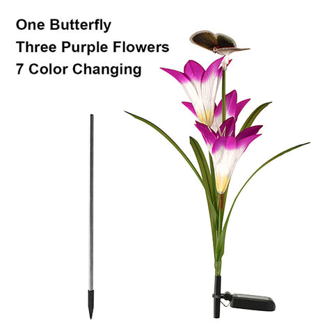 Image of Solar Powered Butterfly Flowers