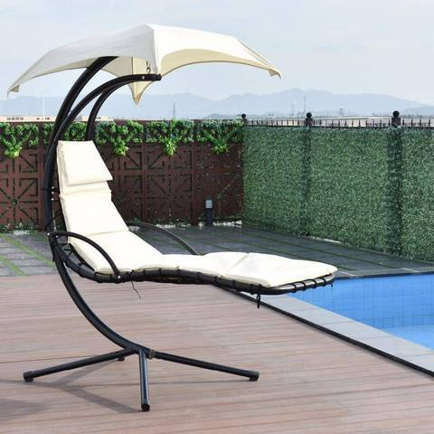 Hanging Chaise Lounger Chair
