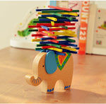 ELEPHANT BALANCING WOODEN TOY - MytrendyShopping