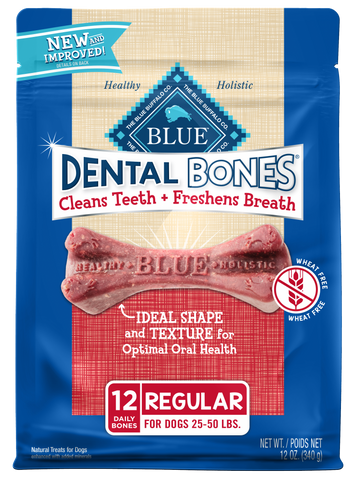 Blue Buffalo Dental Bones Regular Dog Treats