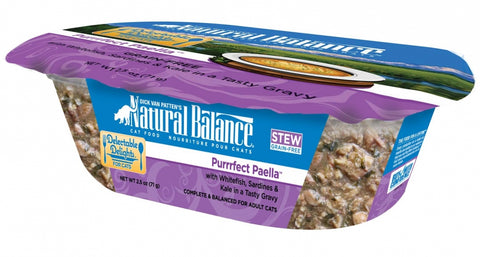 Natural Balance Delectable Delights Grain Free Purrrfect Paella Flavor Wet Cat Food