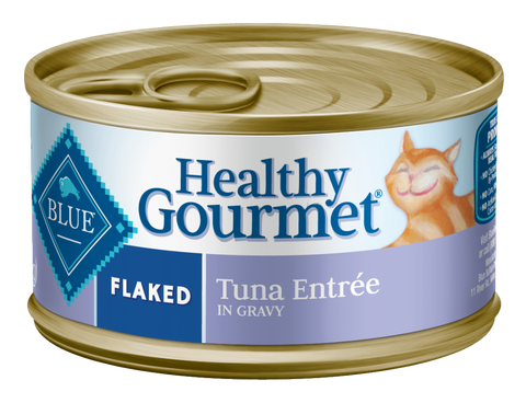 Blue Buffalo Healthy Gourmet Flaked Tuna Entree Canned Cat Food
