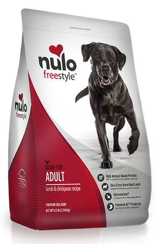 Nulo FreeStyle Grain Free Lamb and Chickpeas Recipe Dry Dog Food