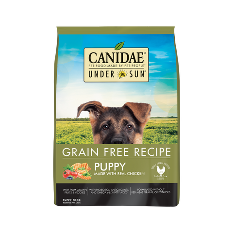 Canidae Under the Sun Puppy Grain Free Chicken Recipe Dry Dog Food