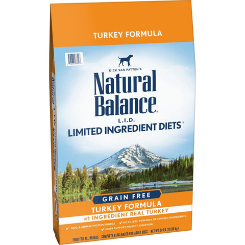 Natural Balance L.I.D Limited Ingredient Diets Turkey Recipe Dry Dog Food
