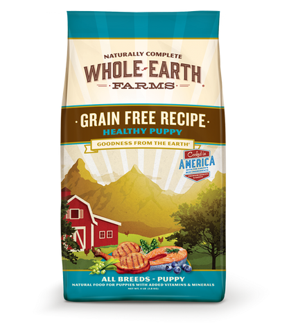 Whole Earth Farms Grain Free Puppy Recipe Dry Dog Food