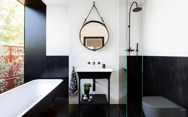 Pull Off A Graphic, Bold Look In The Bath In A Single Weekend