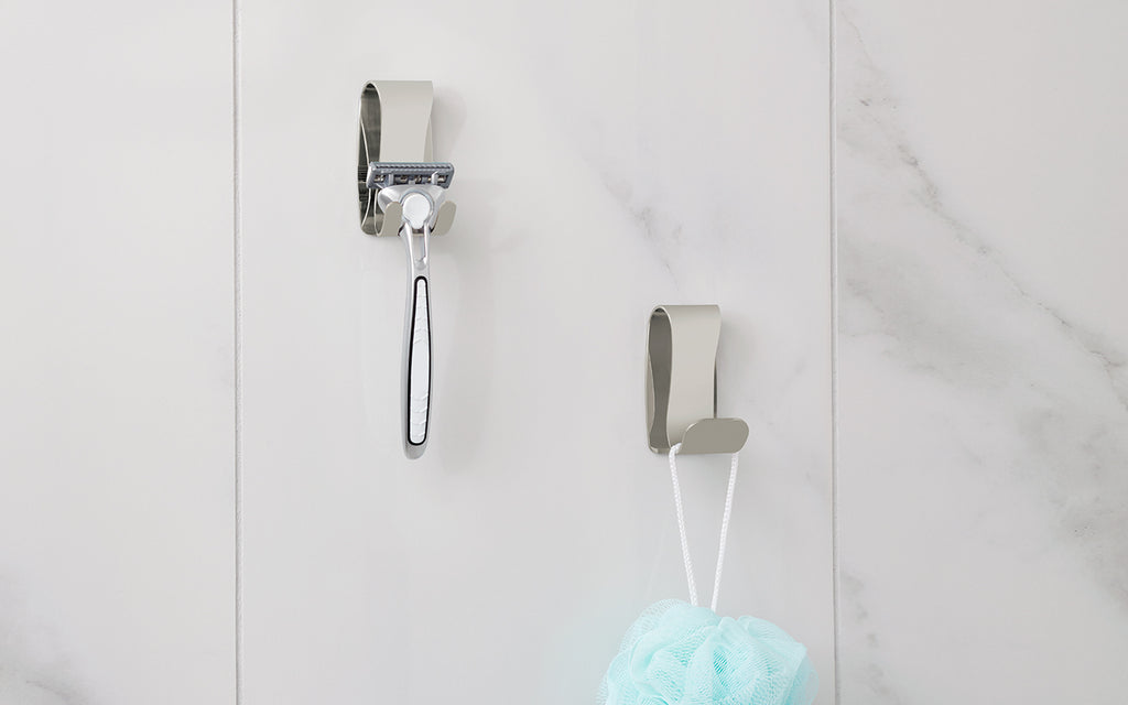 Renting? How to Use Hooks to Expand Your Bathroom Space!