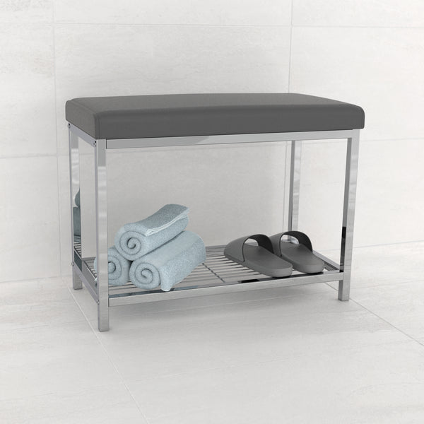 MODERNA Extra Wide Vanity Seat - Better Living Products USA