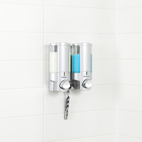 AVIVA Shower Dispenser 2 Chamber - Better Living Products USA