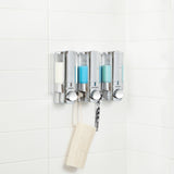 AVIVA Shower Dispenser 3 Chamber - Better Living Products USA