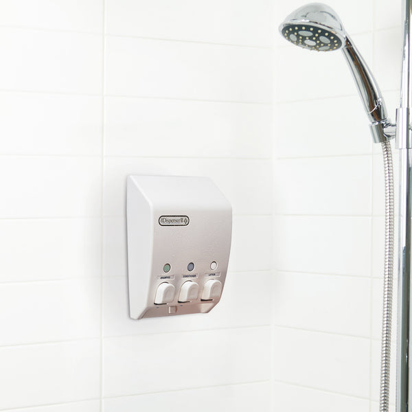 CLASSIC Shower Dispenser 3 Chamber - Better Living Products USA
