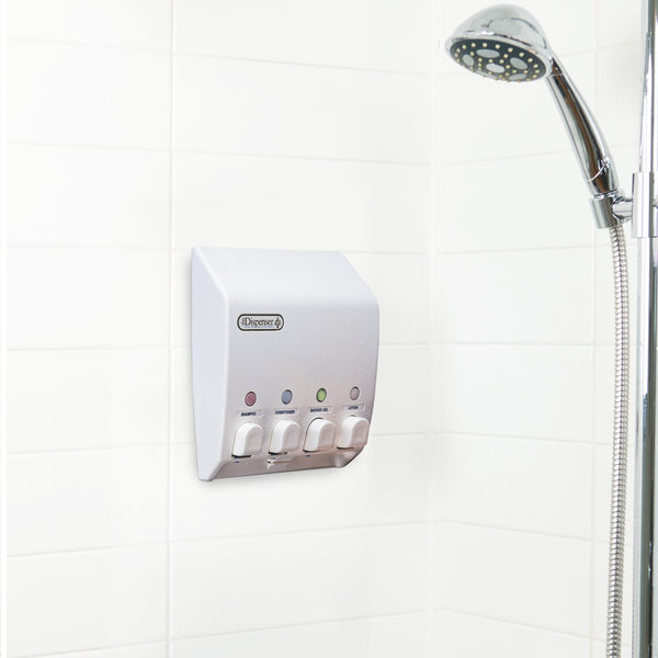 CLASSIC Shower Dispenser 4 Chamber - Better Living Products USA