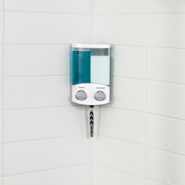 DUO Shower Dispenser 2 Chamber - Better Living Products USA