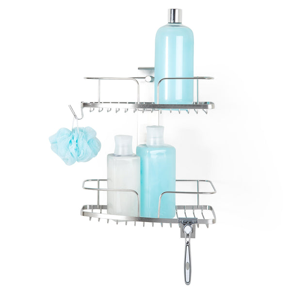FINELINE 2 Tier Shower Basket - Better Living Products USA
