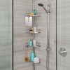 FINELINE 4 Tier Shower Caddy w/ Mirror - Better Living Products USA